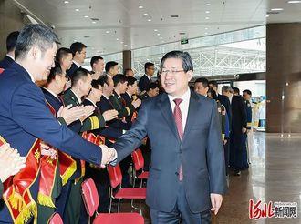 河北省双拥工作会议在石家庄举行