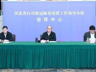 许勤主持召开河北省大气污染防治工作领导小组会议