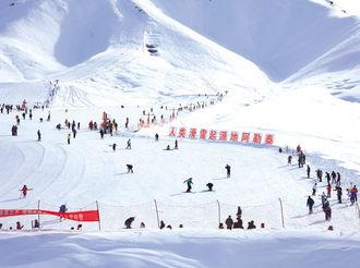 [网连中国]多地巧打冰雪牌 让冰天雪地变金山银山