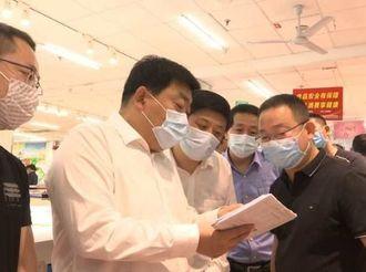 """枣强县市场监督管理局全力打造""""五一""""和谐消费环境"""