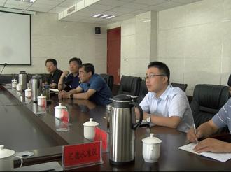 省科学院专家来武邑县就企业有关项目与企业对接洽谈
