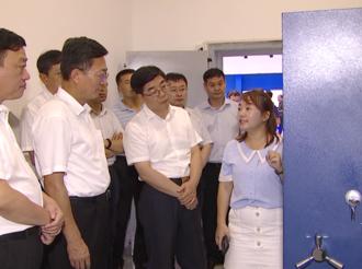 河北工业大学有关人员来武邑县就相关合作进行考察调研