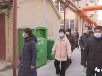 河东街道办:小区防疫工作忙