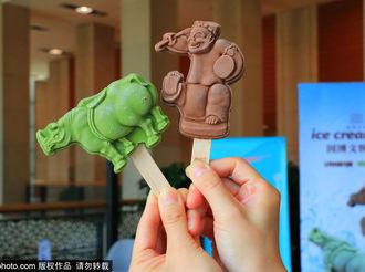 """中国国家博物馆推出两款""""文物雪糕"""" ,造型逼真一秒穿越回汉代"""