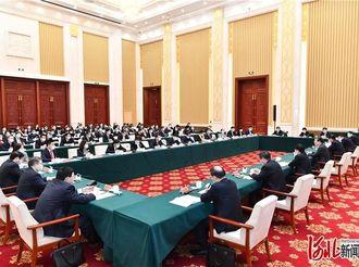 王东峰参加省十三届人大四次会议石家庄市代表团审议