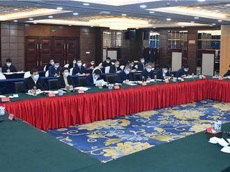 许勤参加指导2020年度邢台市委常委民主生活会